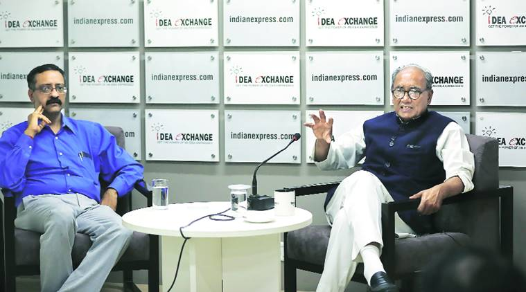 Digvijaya Singh speaks to Indian Express 19 March 2017: India is changing, we can't attract Dalits, tribals with rice, wheat. Cong now needs a new course: Digvijay Singh