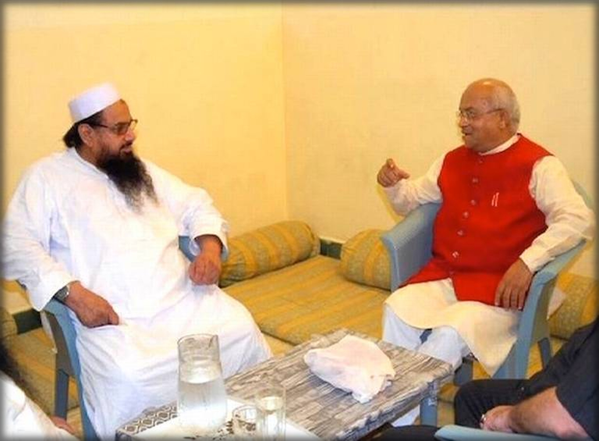 Ved Pratap Vaidik Hafiz Saeed 26 11 Mumbai Attacks Bodhita News Diamond Terrorism Mafia